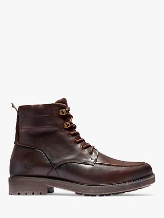 Timberland Oakrock Waterproof Leather Side Zip Boots, Dark Brown