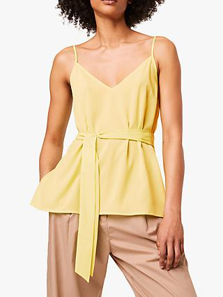 French Connection Asain Top, Sunwash Yellow