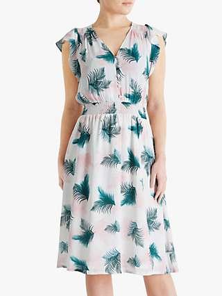 Fenn Wright Manson Petite Palmerie Print Knee Length Dress, Multi