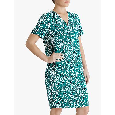 Fenn Wright Manson Petite Agate Abstract Mini dress, Terrazzo Green