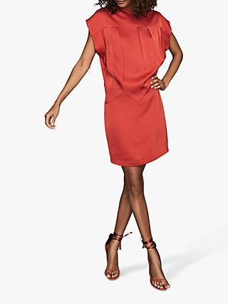 Reiss Tara Mini Dress, Red