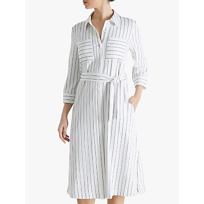 Fenn Wright Manson Riva Striped Shirt Dress, Ivory