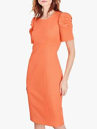 Damsel in a Dress Ella-Mai Fitted Dress, Coral