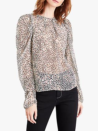 Damsel in a Dress Malie Star Print Blouse, Multi