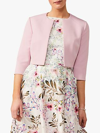 Phase Eight Keeley Cropped Jacket, Blossom