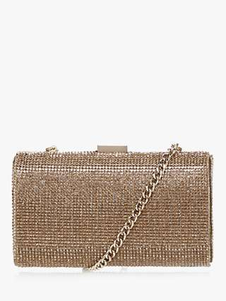 Dune Bryannie Diamante Clutch Bag