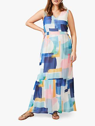 Studio 8 Eliza Abstract Print Maxi Dress, Multi