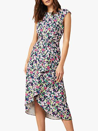 Phase Eight Arya Frill Dress, Multi