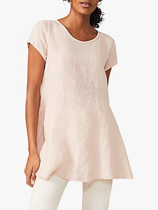 Phase Eight Avanna Longline Linen Blouse