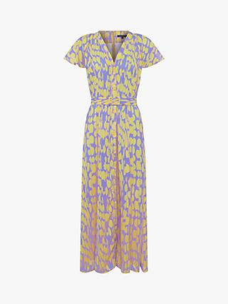 French Connection Islanna Midi Dress, Soft Violet