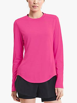 PUMA Ignite Long Sleeve Training Top, Pink
