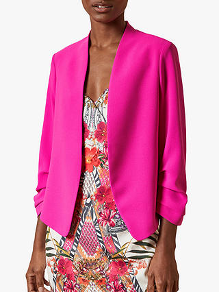 Buy Ted Baker Popy Suit Jacket, Hot Pink, 6 Online at johnlewis.com