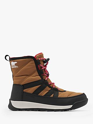 SOREL Children's Whitney II Waterproof Snow Boots, Elk