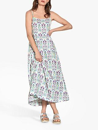 hush Orlandi Cotton Sun Dress, Ikat Print