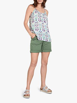 hush Olimpia Abstract Ikat Print Cami Top, Multi
