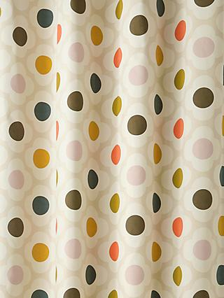 Orla Kiely Spot Flower Pair Blackout Lined Eyelet Curtains, Multi