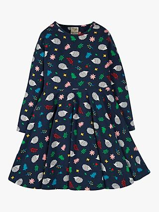 Frugi Children's Sofia GOTS Organic Cotton Skater Dress, Multi