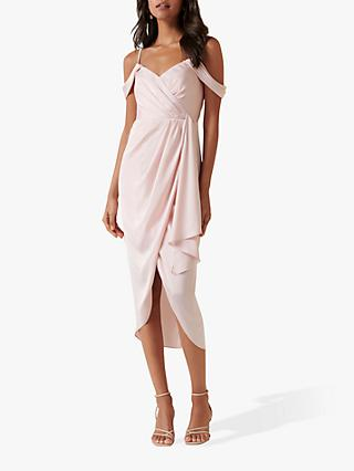 Forever New Hadley Midi Dress, Blush