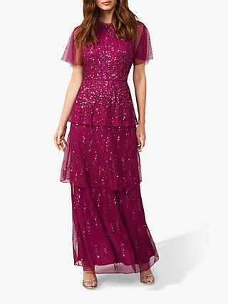 Phase Eight Liliana Dress, Berry