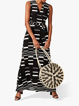 Phase Eight Willow Dress, Black/White