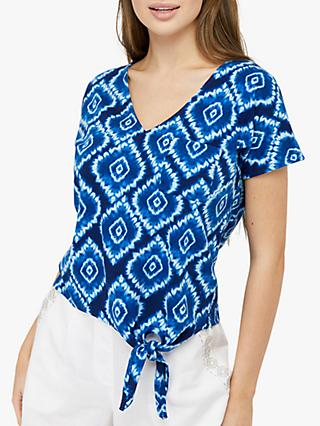 Monsoon Maya Tie Dye Top, Blue