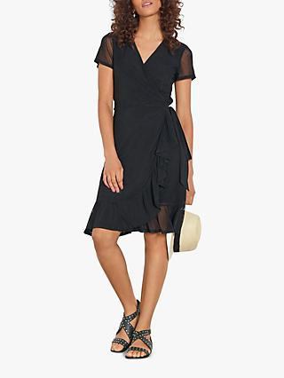 hush Jersey Dress, Black