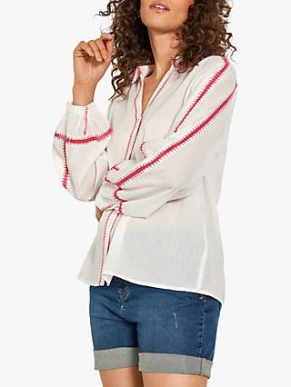 hush Lando Blouse, White