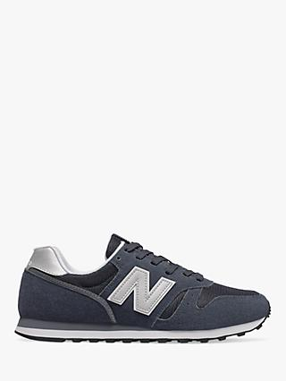 New Balance 373 Suede Trainers, Navy