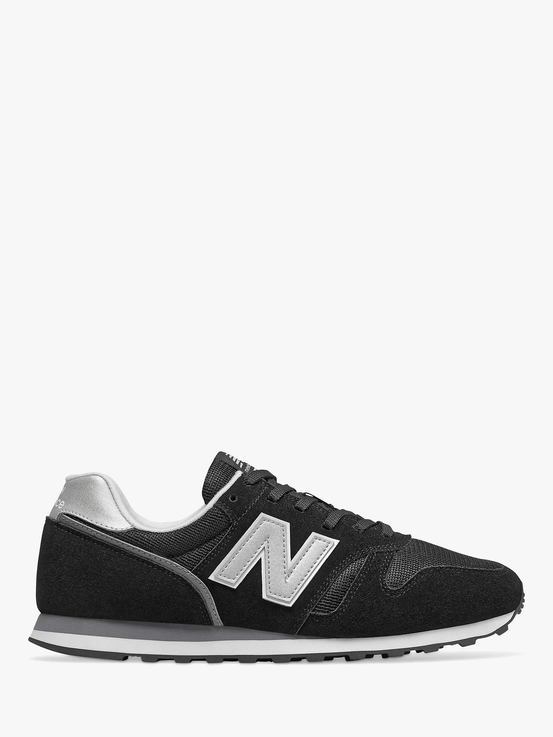 New Balance 373 V2 Trainers, Black/Silver