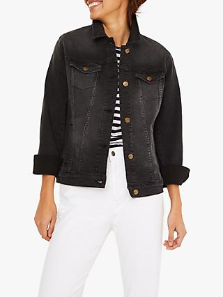 White Stuff Betsy Denim Jacket, Black