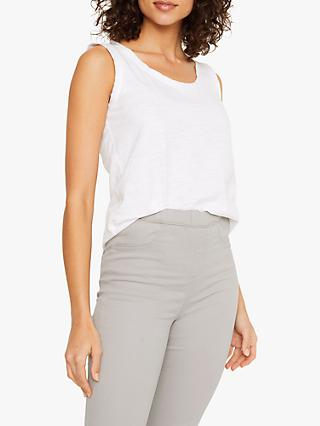 White Stuff Coloured Crop Trousers, Grey
