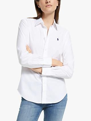 Polo Ralph Lauren Georgia Shirt, White