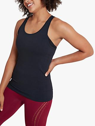 Jilla Active In Motion Recycled Yoga Vest, Black