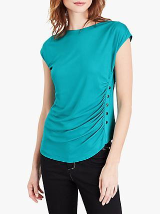 Damsel in a Dress Kimi Stud Detail Top, Teal