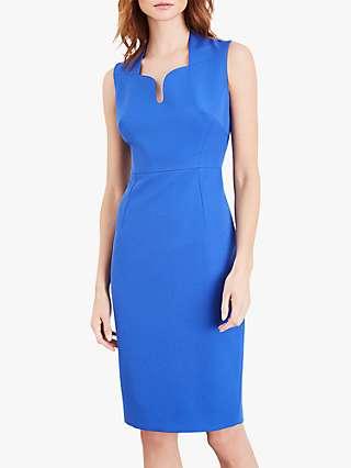 Damsel in a Dress Trini Knee Length Pencil Dress, Cornflower Blue