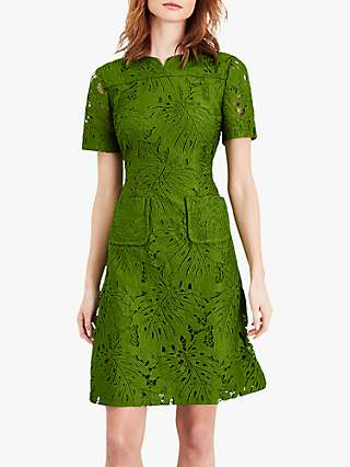 Damsel in a Dress Yazi Lace Mini Dress, Green