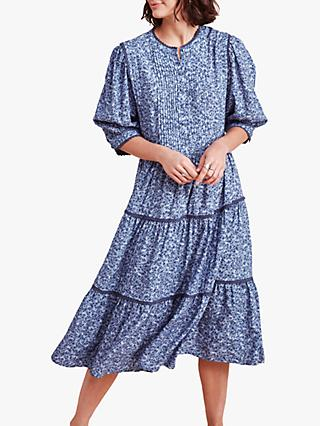 East Maya Midi Dress, Blue