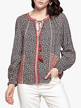 East Laurie Top, Black/Red