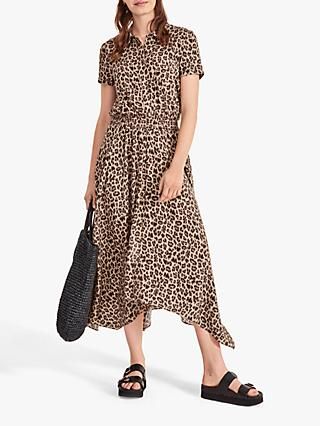 hush Kensington Leopard Print Maxi Dress, Multi