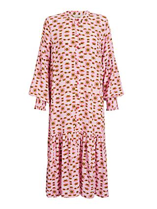 Numph Nubeige Dress, Pink
