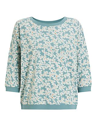 Numph Nubrighed Sweatshirt, Blue