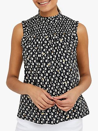 Monsoon Trixie Print Tank Top, Black