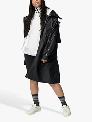 adidas by Stella McCartney Weather Ready Long Parka, Black