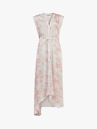 AllSaints Tate Evolution Dress, Pink