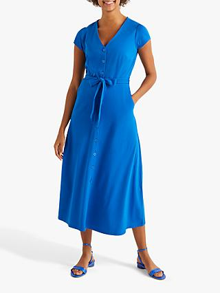 Boden Frances Dress, Bold Blue