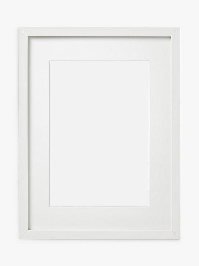 Buy John Lewis & Partners MDF Glass Poster Frame, White, A3 (29 x 42cm) Online at johnlewis.com