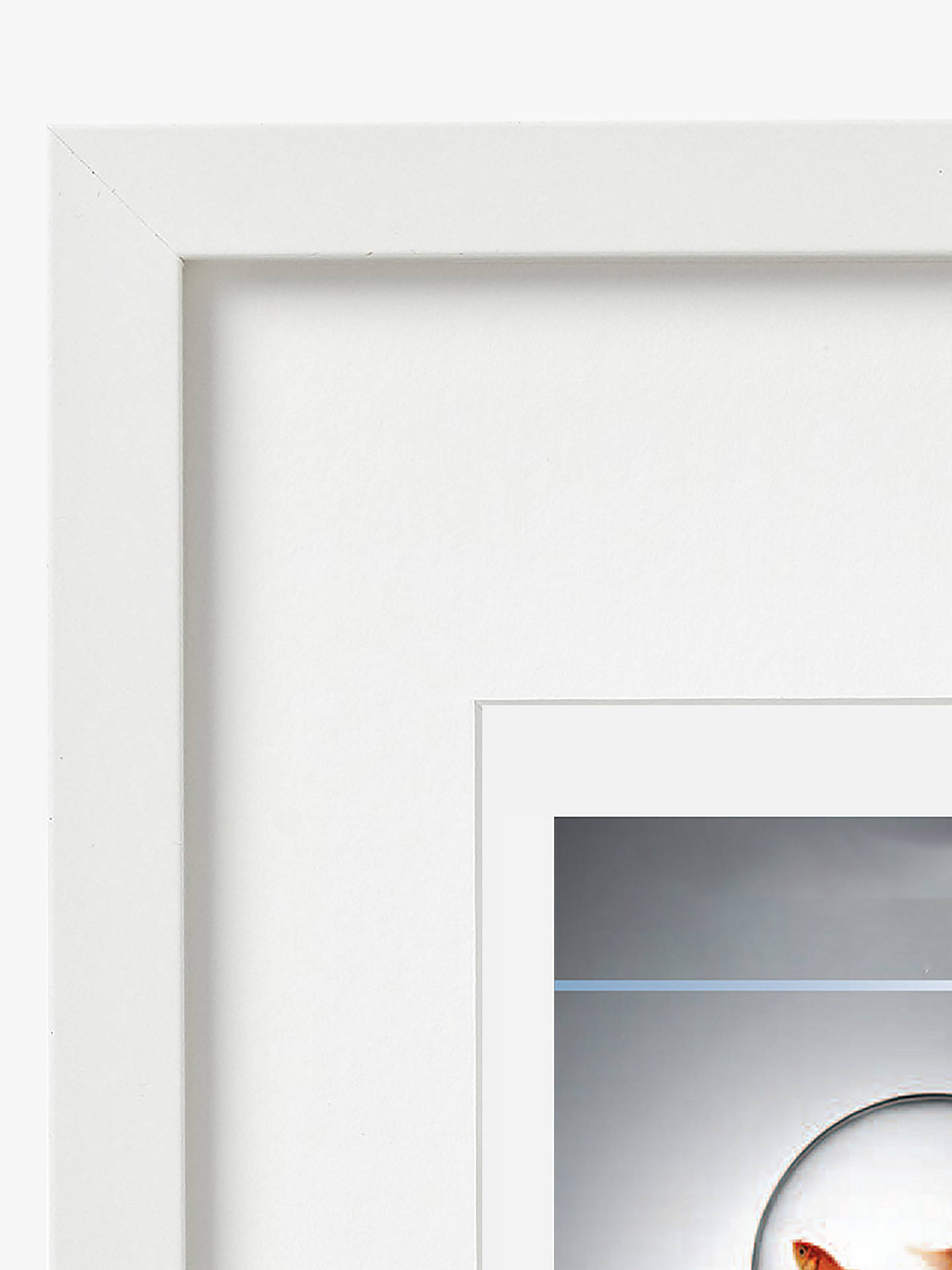 Buy House by John Lewis MDF Glass Poster Frame, White, A2 (42 x 60cm) Online at johnlewis.com