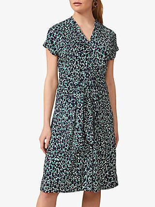Phase Eight Carolina Abstract Print Knee Length Dress, Multi