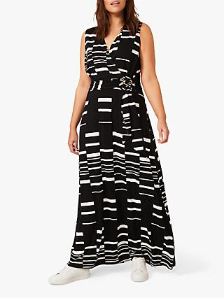 Studio 8 Willow Maxi Dress, Black/White
