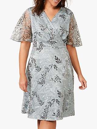 Studio 8 Trudy Lace Dress, Blue
